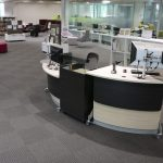 GLO's natural curves exude a relaxed and friendly atmosphere at Napean College, TAFE NSW.