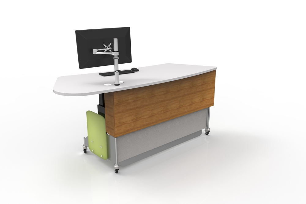 MAXX - A height adjustable issues / help desk for libraries.