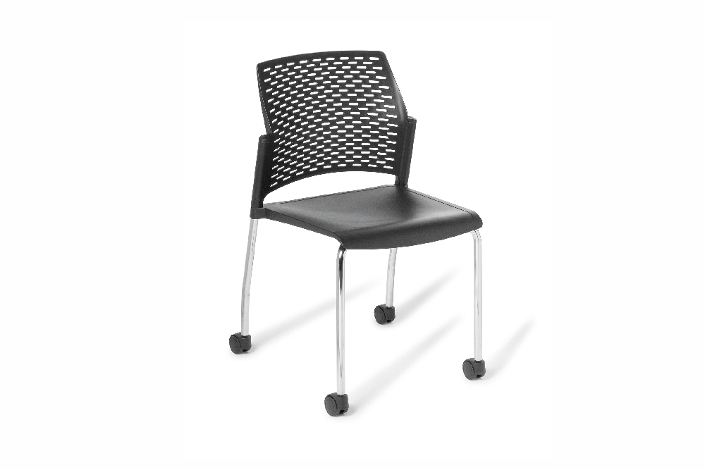 PUNCH Standard Chair with the brake castor option.