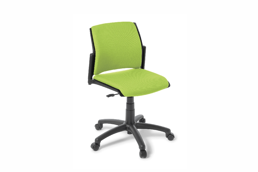 SPRING 5 Star Swivel Chair, fully upholstered option.