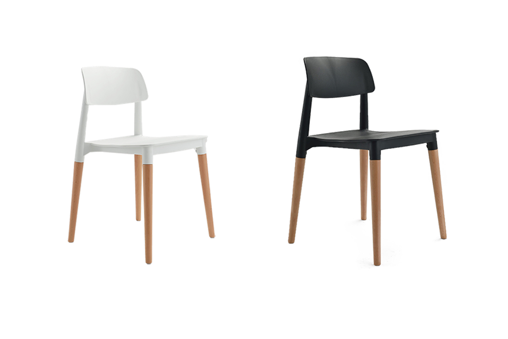 CREATIVE Chair comes in either black or white.