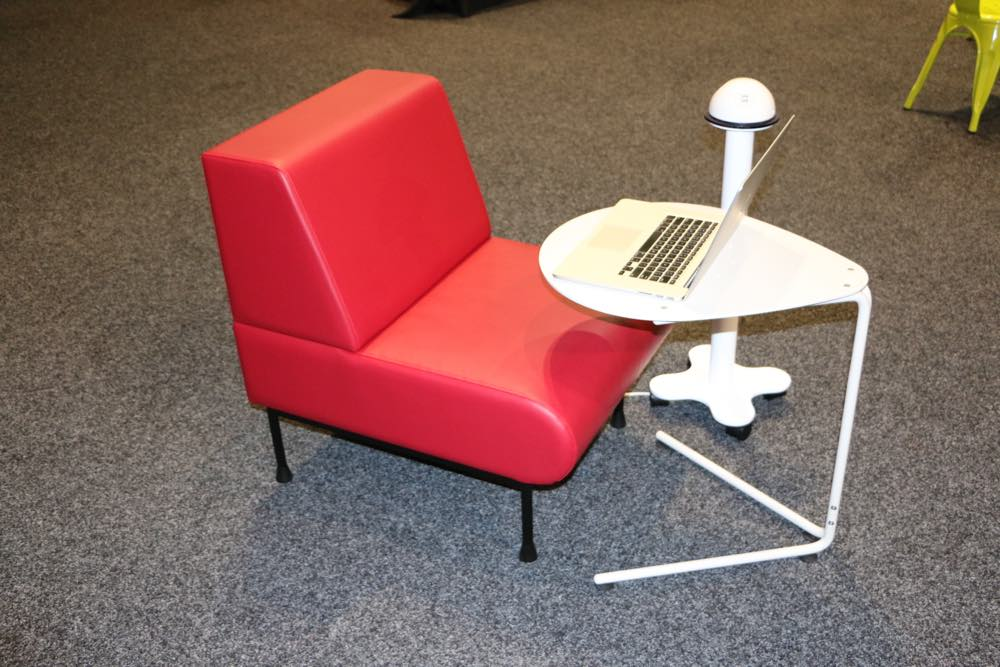 HITCH Recharge Station with SPARROW Table.