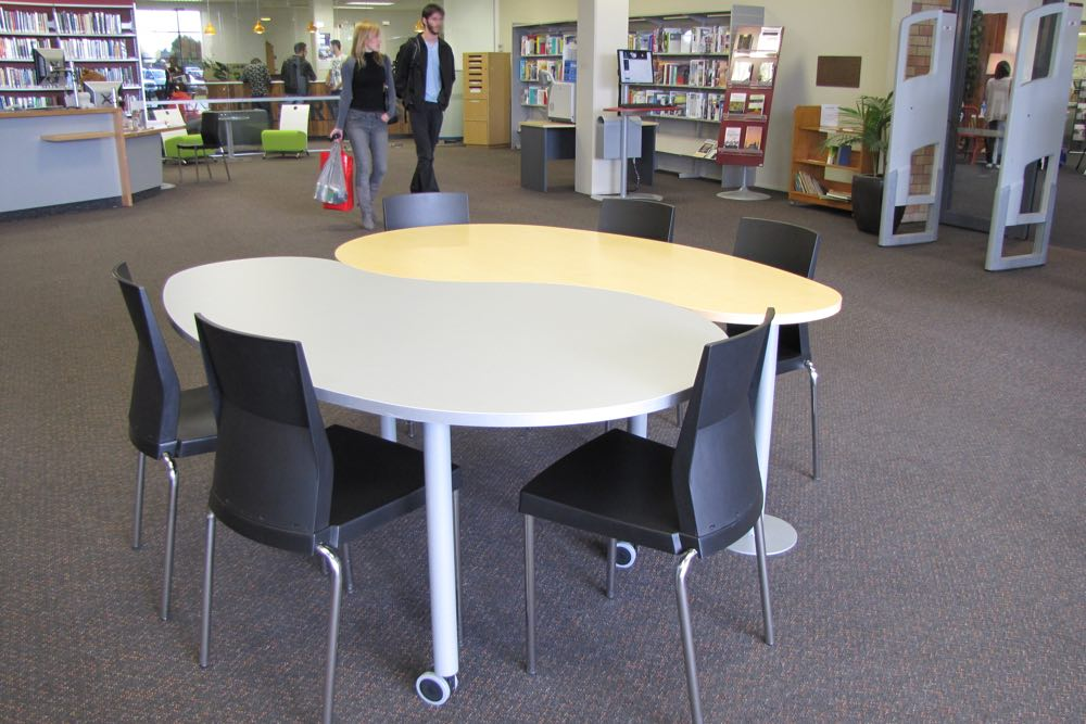 T9 COMMA Table at Laidlaw College.