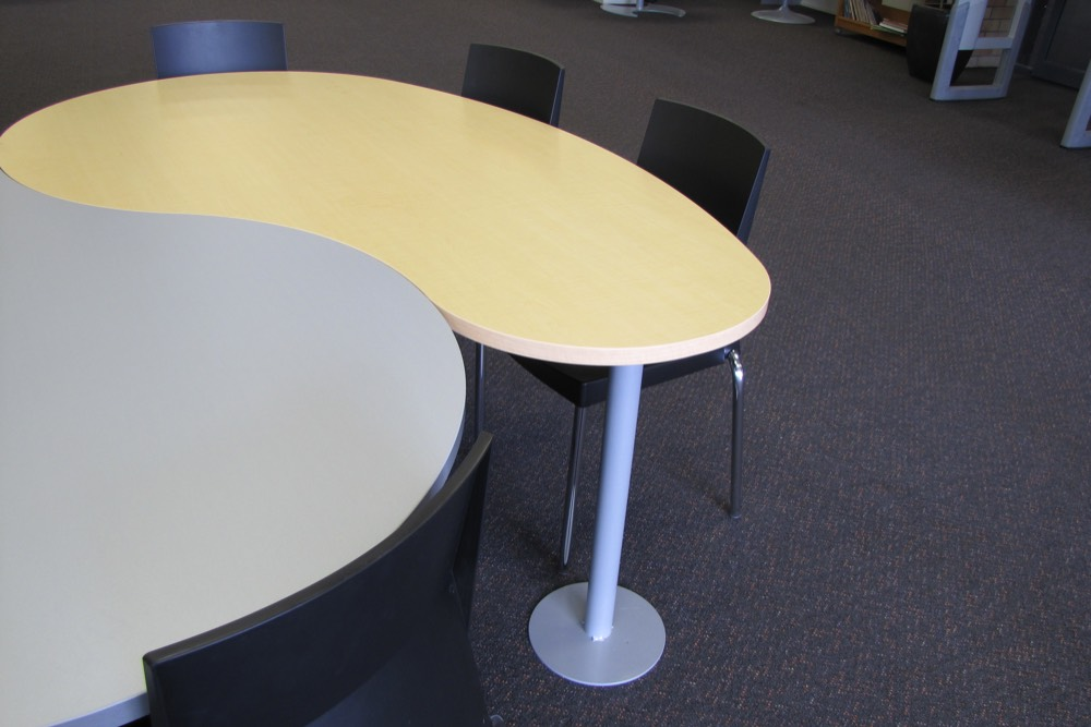 T9 COMMA Tables fit snugly together.