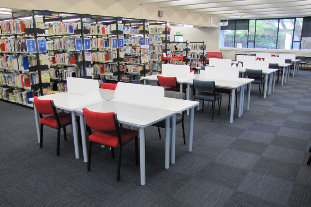 Socrates FLICK Study Stations provide quiet space at Massey University.