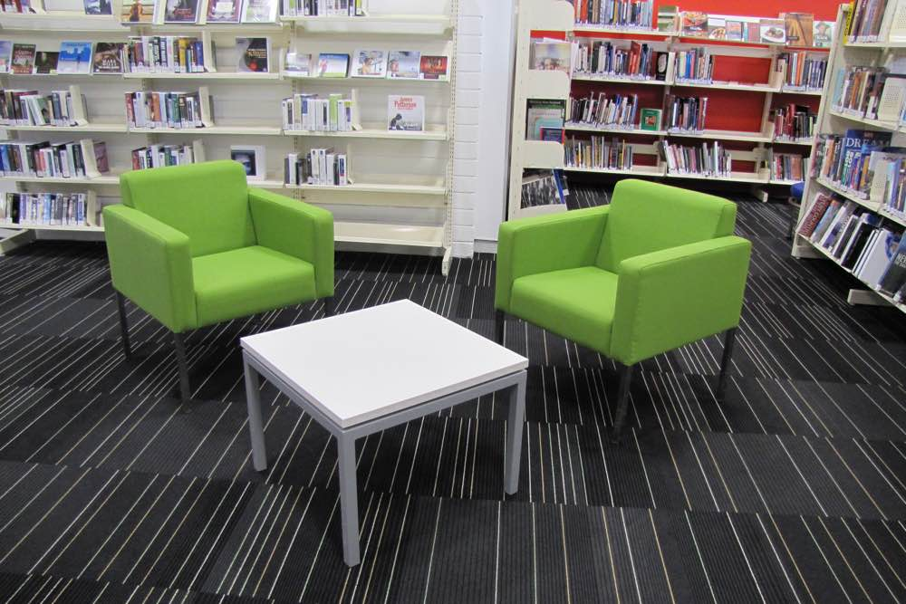 MODE Low Table at Mt Roskill Community Library.
