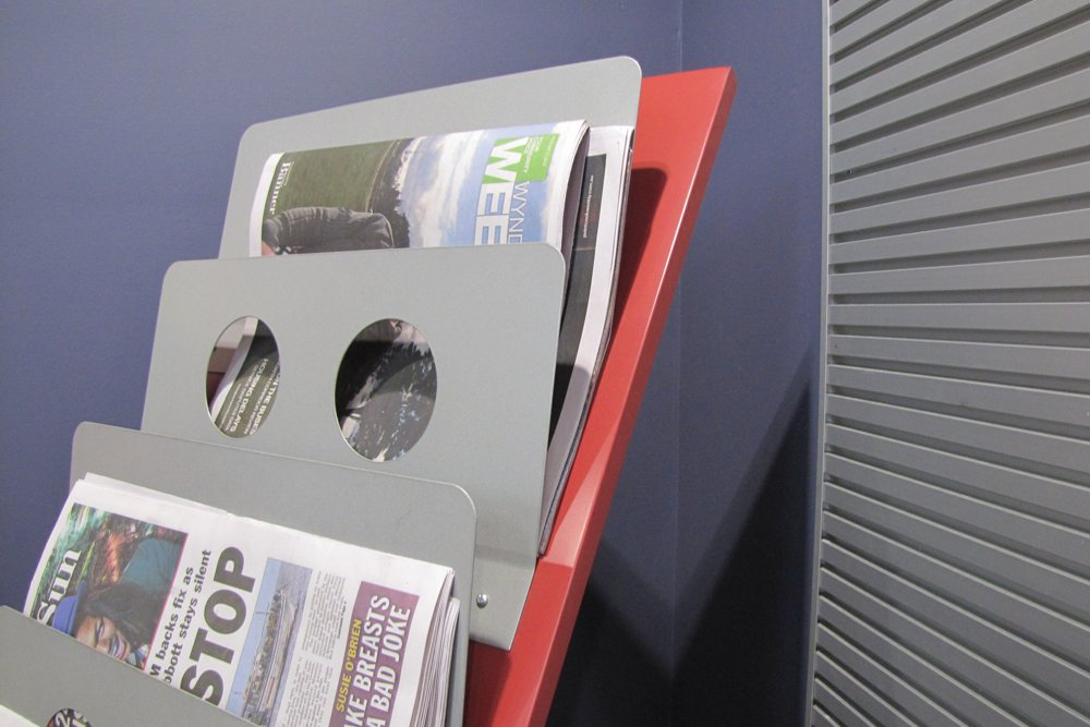 WOW NEWS Stand detail.
