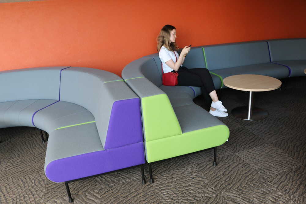 MEMPHIS Seating range — a distinct, colourful and confident style for modern learning spaces.