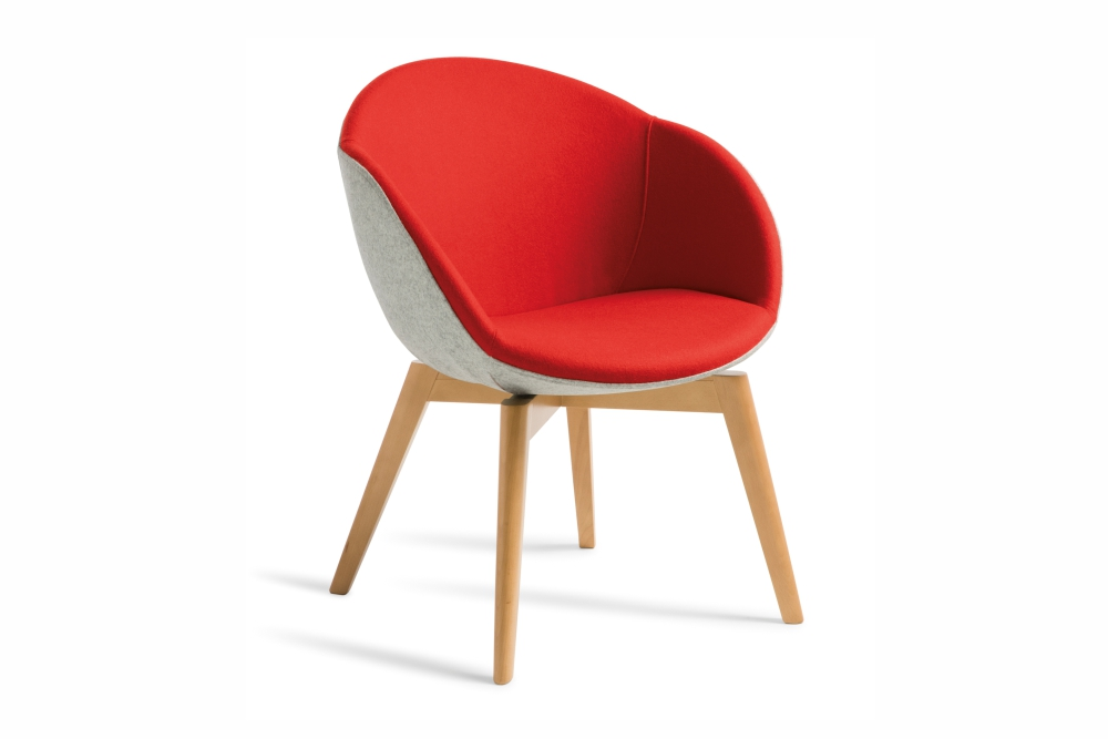 AMELIA Chair is a stylish informal seating option.