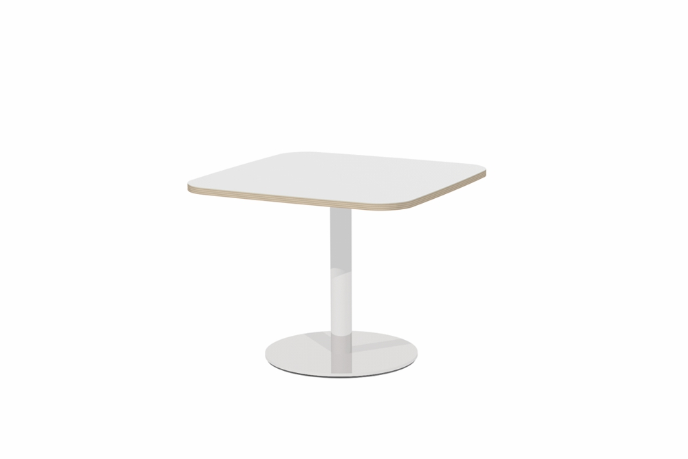 T6 SQUARE Soft Form Table / Pedestal base.