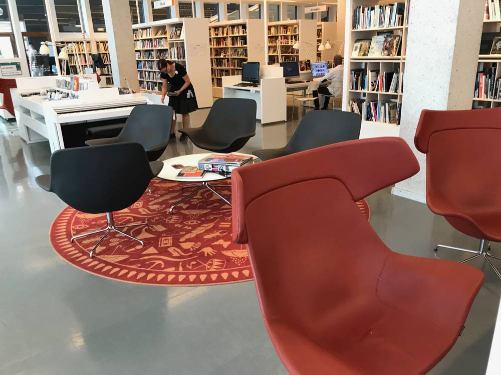 Interior Gothenburg City Library